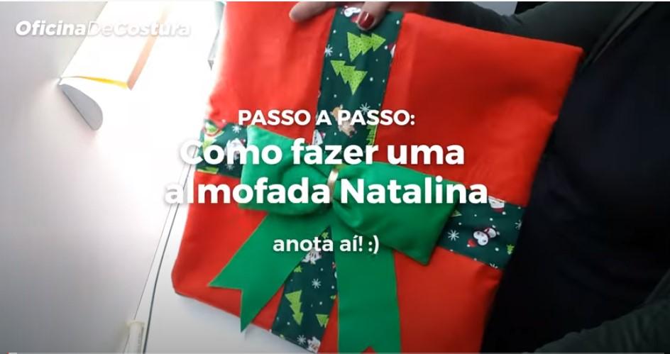 Parceria GAIA xBGR - Capa de Almofada Natalina