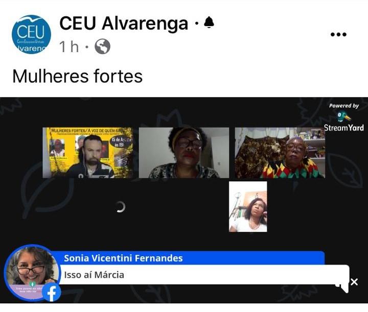 Mulheres Fortes - Live CEU Alvarenga