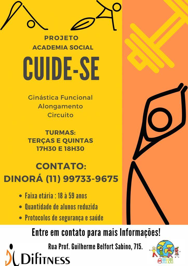 PROJETO Academia Social